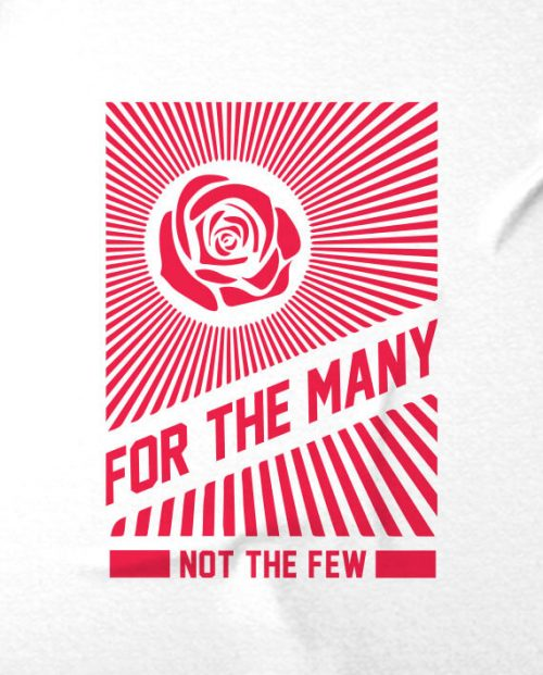 vote labour for the many not the few