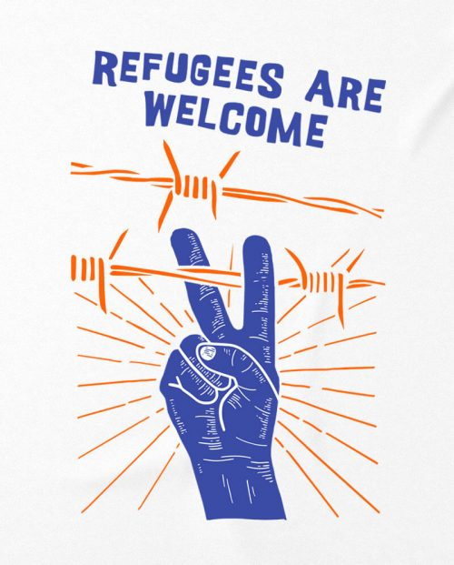 Refugees Are Welcome T-shirt