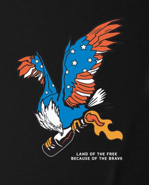 Land of the Free Molotov Cocktail T-shirt