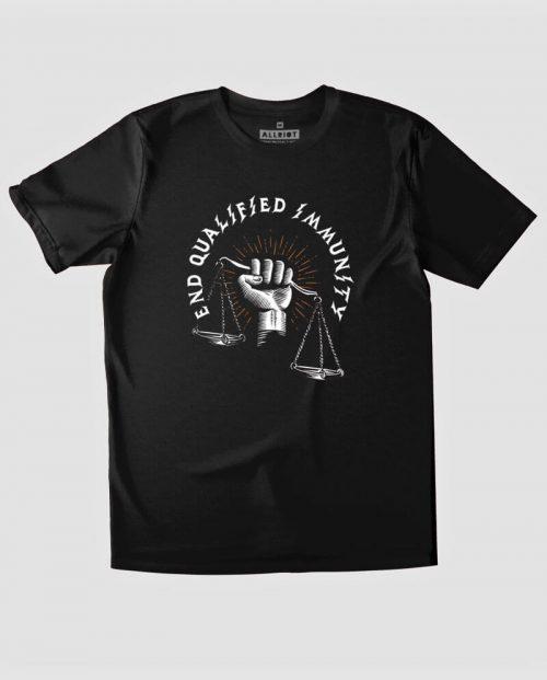 End Qualified Immunity T-shirt