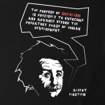 Albert Einstein Socialism T-shirt