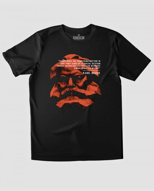 Karl Marx Quote T-shirt