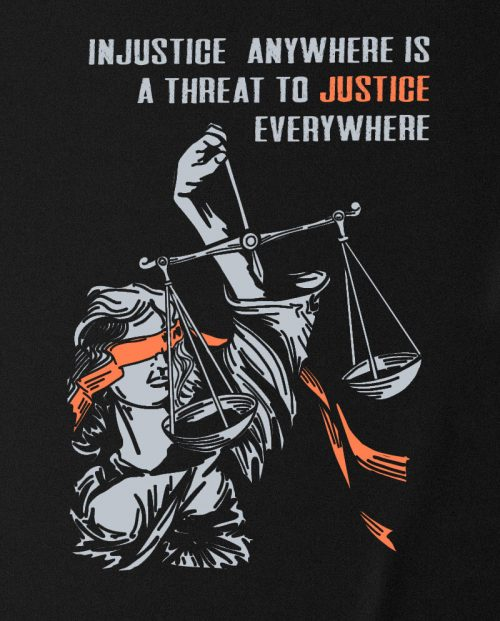 Injustice Anywhere T-shirt