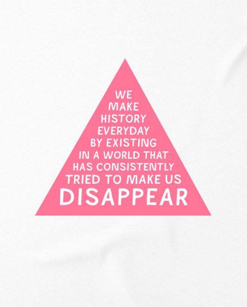 Pink Triangle LGBT T-shirt