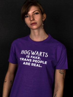 anti jk rowling t-shirt trans people lgbt