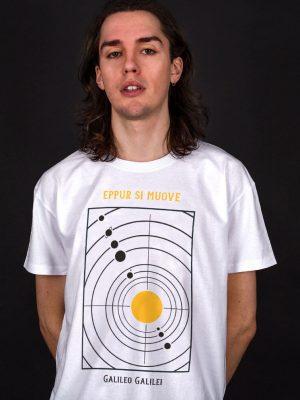eppur si muove galileo t-shirt science