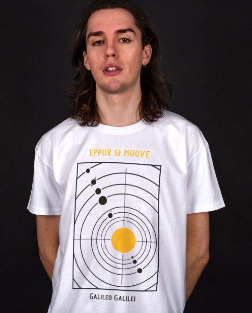 Eppur Si Muove Galileo T-shirt