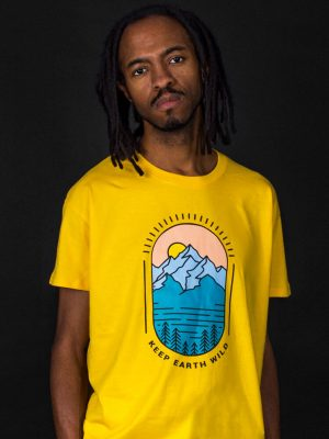 keep earth wild nature lover t-shirt