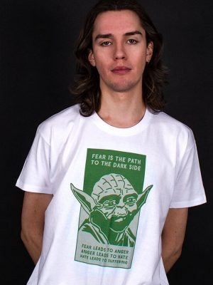 yoda t-shirt political dark side