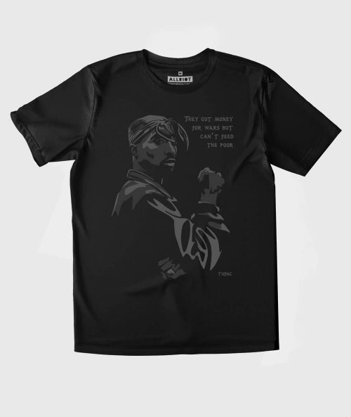 Tupac Money for Wars T-shirt
