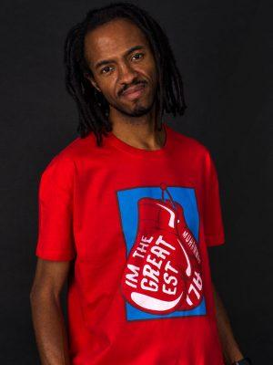 muhammad ali t-shirt i'm the greatest